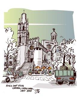 Study Trip 2010. Girona. Ilustración: Kaianders Sempler