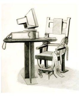 El trabajo de oficina resulta perjudicial para los enfermos de fibromialgia. Imagen: Irene Cuesta/SINC.