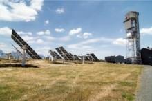 Planta piloto del proyecto 'Hydrosol II' de la Plataforma Solar de Almería.